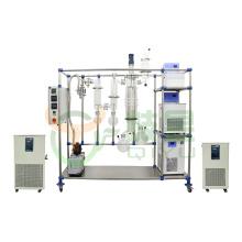 Turnkey Solution High Purification Cbd Oil Extraction Machine Glass Molecular Distillation Equipment