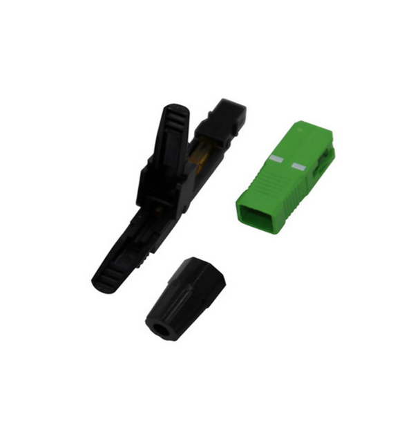 Fiber Optic Quick Assembly Connector