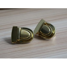 Shiny Gold Custom Logo Metal Locks For Briefcase