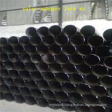 Steel pipe, outside 177.8, inside 137.8, quality S355J2H, DIN-2448/1629