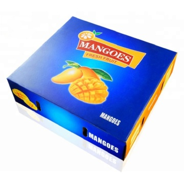 Corrugated Paper Fruit Packing Carton Box For Mango