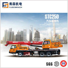 25tons 4-Section Mobile Truck Crane Stc250
