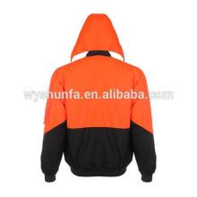 AS / NZS 1906.4: 2010 et AS / NZS 4602.1: veste standard réfléchissante 2011 imperméable à l'eau et