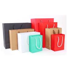 wholesales cheap paper bag custom bag printing packaging paper gift bag