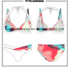 Impresión del arco iris Push Up Bikinis Sexy Swimwear