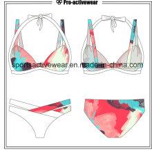 Rainbow Printing Push up Bikinis Sexy Swimwear