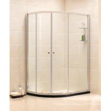 Artículos sanitarios vidrio templado simple recinto de la ducha (B14)