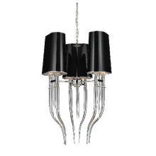 Black Lampshade Steel Pendant Lamp (GD2013-3M)