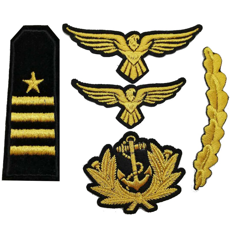 Fabric Embroidery Military Patch