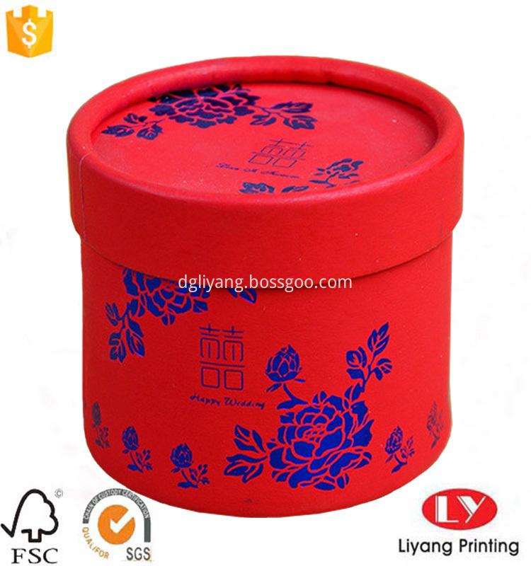 roung wedding gift box