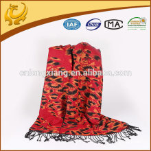 Hot Sale 100% Viscose Shawl For Lady