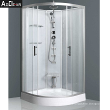Aokeliya Self Contained Enclosed Steam Shower Cubicles with Head Shower for Bath