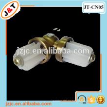 Conectores de barra de cortina de metal, conector de esquina de acero inoxidable, conector de metal rj45