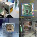 Machine de découpe laser à fibre portable hobby 30w pour le prix du métal
