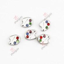 Esmalte paleta de pedra encantos bonitos moda jóias (FC)