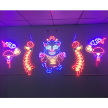 FESTIVAL WALL MOUNTED NEON SIGN