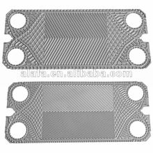 GEA similar replace of heat exchanger spare parts plates and gaskets