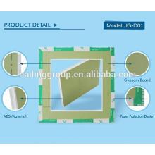 Panel de acceso y panel de techo de yeso para papel y panel de acceso para panel de yeso