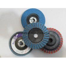 Flower Shape Korea abrasive flexible Klappe Disc
