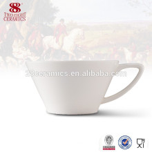 Porcelain tea cups and saucers 200ml water cups cheap factory direct sale
