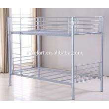 Uso forte Pousada estudante de metal beliche cama de casal deck