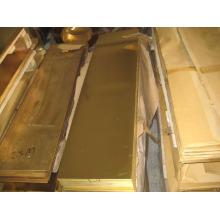 Preço de chapas de cobre e preço da placa de cobre com fábrica em Shenzhen