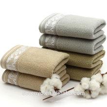 100% Baumwolle Haus & Garten saugfähiges Badetuch auf Lager Ht-091 China Factory