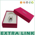 Extra Link Factory Price Wholesale Custom Foil Stamping Logo Red Paperboard Perfume Packaging Containers