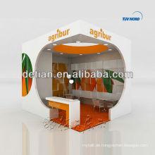 Holz-Design-U-Form-Ausstellung steht für Messe-Fachmesse Stand Ausstellung