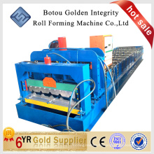 JCX 1000 glazed tile roof roll forming machine