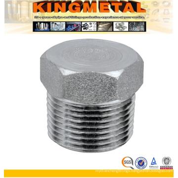 Stainless Steel Square NPT Screwed Threaded Plug