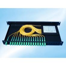 Divisor del PLC de fibra óptica 1X8 / 1X16 / 1X32