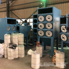 Horizontal Cartridge Industry Dust Collector for Laser Cutting