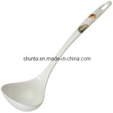 """100% Melamine Dinnerware -""""Red Persimmon"""" Series Spoon (RP103)"""