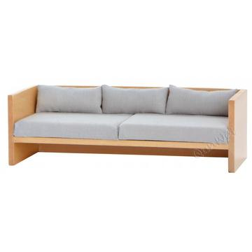 Dollhouse miniature living room modern sofa for 3