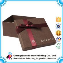 cajas de dulce decorativas de regalo de papel dulce artesanal de nuevo estilo