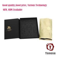 Caixas de dobramento de papelão recarregável preto novo design