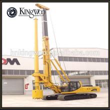 La construction emploient la machine de forage rotatoire hydraulique complète de forage pour empiler le trou
