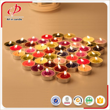 Christmas Decorative Colourful Scented Tealight Candle