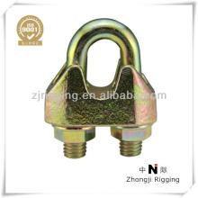Attaches de serrage de câble métallique Din 1142
