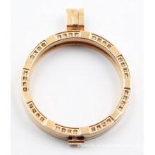 30мм/35мм РД мода медальон Кулон ювелирные изделия микро-проложить камни