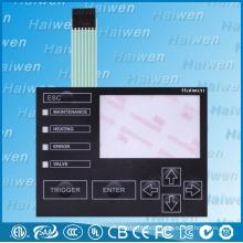 Custom Waterproof PET Membrane keypad With 3M9495LE