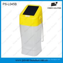 Aplicação exterior interna da lanterna solar portátil do diodo emissor de luz da iluminação de 360 graus