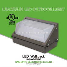 SNC UL CUL 80w LED Wall Pack Light hot sale in USA market waterproof outdoor Light