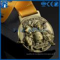 Günstige Mode Custom Antique Gold, Silber Bronze Logo Metal Award Medaille