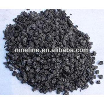 Coque de petróleo grafitado bajo en azufre para la fabricación de acero