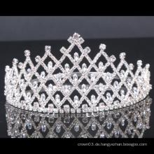 Hochzeit Crown Rhinestone Tiara Crystal Festzug Kronen