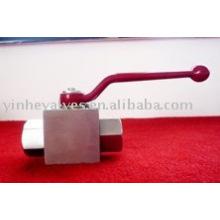 Válvula de bola de alta presión