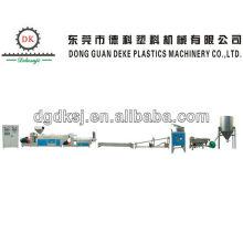 Waste HDPE LDPE Plastic Extruder Line DKSJ-140A/125