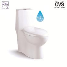 Toilettes compactes à double chasse